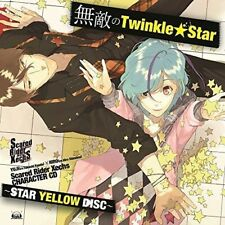 SCARED RIDER XECHS CHARACTER CD-STAR YELLOW DISC- 'MUTEKI...'-JAPAN CD D73