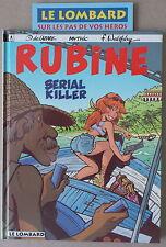 RUBINE ** TOME 4  SERIAL KILLER  **   EO NEUF + FLYER CATALOGUE