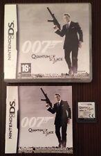 007 Quantum Of Solace Game For Ds Dsi Lite 3Ds Nintendo James Bond 99p UK P&P