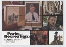 2013 Press Pass Parks and Recreation Seasons 1-4 #13 Greg Pikitis Card 2a1