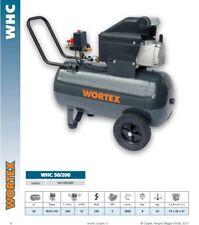 COMPRESSEUR WORTEX 50 L 2Hp PORTABLE 230V MONOPHASE 200 lt/min WHC50/210