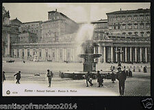 ITALY 277 ROMA -6556 Palazzi Vaticani - Piazza S. Pietro (Edit. Brunner & C.,)