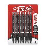 Sharpie Gel Pens 0.7mm, 8 Pack (Black)