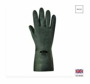 CHEMICAL RUBBER GLOVE,PETROL,HEAVY DUTY,DEEP CLEANING Polyco - SIZE 9