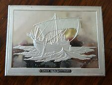 Franklin Mint Great Sailing Ships of History Sterling Ingot Greek Merchantman