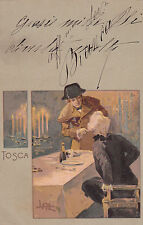 * TOSCA - Metlicovitz - Ed.Ricordi&C.Milano N.67 - Piacenza 1901