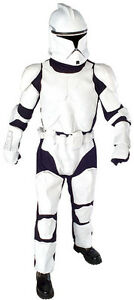 FANCY DRESS ~ STAR WARS MENS DLX CLONE TROOPER XL
