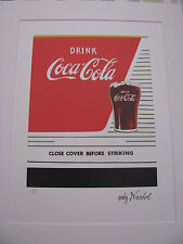 Andy Warhol Coca Cola - Limited Edition of 5000