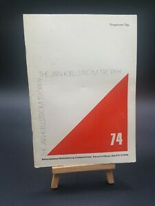 The Jan Kjellström Trophy Programme April 1974 - Historic Orienteering Booklet