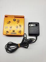 Nintendo Game Boy Advance SP Pokemon Center New York Orange Handheld System