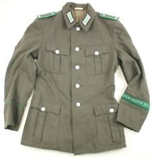 DDR EAST GERMAN ARMY BORDER GUARDS JACKET G44 USED 36""