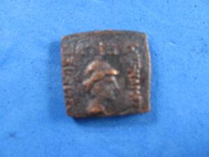 Indo - greek , Bactrian , EUKRATIDES Bronze 171-135 BC  Extremely Rare