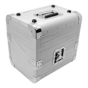 Zomo OB-80 XT Silver Record Case Lp-Case Dj Vinyl Case 50/50 Division