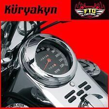 Kuryakyn Chrome Speedometer Visors for '68-'17 H-D Models 112