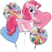 Party Supplies My Little Pony Birthday Pinkie Pie Foil Shape Balloon Bouquet