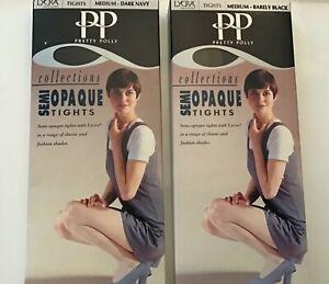Pretty Polly Semi Opaque Medium Tights. New. Boxed