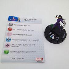 Heroclix Avengers Assemble set Kate Bishop #018 Uncommon figure w/card!
