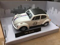 CARARAMA 4-11840 VW BEETLE HERBIE diecast model rally car Number 53 TV Film 1:43