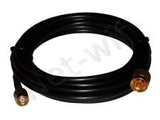 1m cavo RF240 PROLUNGA ANTENNA WIRELESS N-MALE : RP-TNC plug