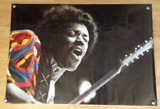 "Jimi Hendrix poster printed in Switzerland 1991 38"" x 26.5"""