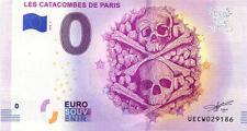 75014 Les Catacombes, 2018, Billet 0 € Souvenir