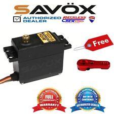 Savox SV-0220MG High Voltage Metal Gear Digital Servo+ Free ALU servo horn Red