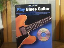 PLAY BLUES GUITAR - MASTER BASIC BLUES by Darryl Winston w CD included VG++