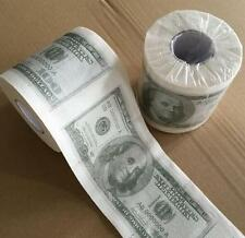 $100 Dollar Bill Money Toilet Paper Printed Roll Soft Bathroom Tissue Novelty