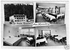 "AK, Bad Driburg Westf., Pension ""Am Rosenberg"", vier Abb., gestaltet, um 1960"
