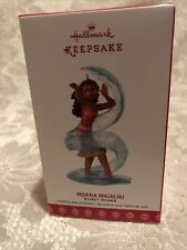 Hallmark 2017 Moana Waialiki Disney Ornament Mint in Box