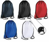 Waterproof Bag Drawstring Backpack Gym PE Swim School Sport Shoe Dance Or P.E UK