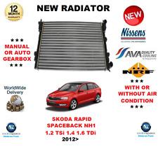 Per Skoda Rapid Spaceback NH1 1.2 TSI 1.4 1.6 TDI 2012 > NUOVO RADIATORE OE Quality