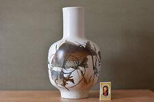 "RARE 32 cm 12.5"" Royal Copenhagen fish vase DIANA 1055/5369 Denmark Danish"