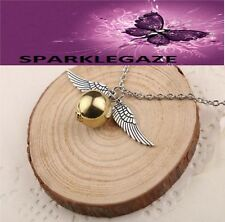 BRAND NEW 2018 HARRY POTTER SNITCH PENDANT WITH SP NECKLACE 193