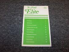 1976 Ford Elite Coupe Original Owner Owner's Operator User Guide Manual V8
