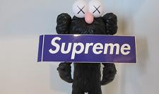 Supreme Box Logo Stickers Akira Smurf Purple Bling Velvet Plastic Scratch Hirst