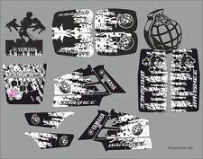 YFZ Yamaha Banshee full graphics kit decals sticker vinyl #545 ken block mikki 2