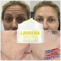 LANBENA Peptide Pump Hyaluronic Acid Cream Skin Inflate Pump Anti Wrinkle Aging
