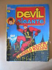 DEVIL GIGANTE n°1 1977 Cronologica  Edizione Corno [G753B] BUONO NO ADESIVI