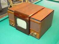 "Classic 1948 Crosley 307TA ""Spectator"" 10"" Table Top TV, Nice RCA 630 Clone"