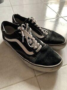Vans Old Skool VD3HSU Sneaker da Uomo - Bianco/Nero, EU 42