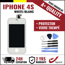A+ LCD TOUCH SCREEN/SCHERM/ÉCRAN WHITE BLANC & VERRE TREMPÉ +TOOLS FOR IPHONE 4S