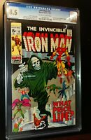THE INVINCIBLE IRON MAN #19 1969 Marvel Comics CGC 8.5 VF+