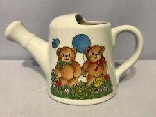 Lucy and Me Bears Balloon Garden Water Pitcher 3� Enesco 1981 O6