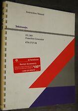 Tektronix FG 503 Function Generator (070-1727-01) Instruction Manual
