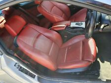 ✅✅✅GENUINE BMW E92 RED SPORT LEATHER SEATS SET 4 ELECTRICAL AND HEATED SEATS