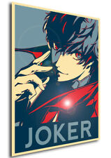 Poster Propaganda - Persona 5 - Joker