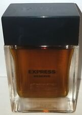 (VINTAGE) EXPRESS RESERVE COLOGNE SPRAY 3.4 OZ./ 100 mL (FULL BOTTLE / NO BOX)