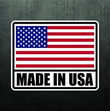 Made In USA America Vinyl Sticker Decal United States Flag Decal For Jeep Ford