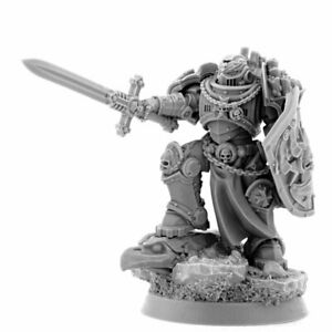 Imperial Emperor's Champion-Black Templars Space Marines Bladeguard Lieutenant